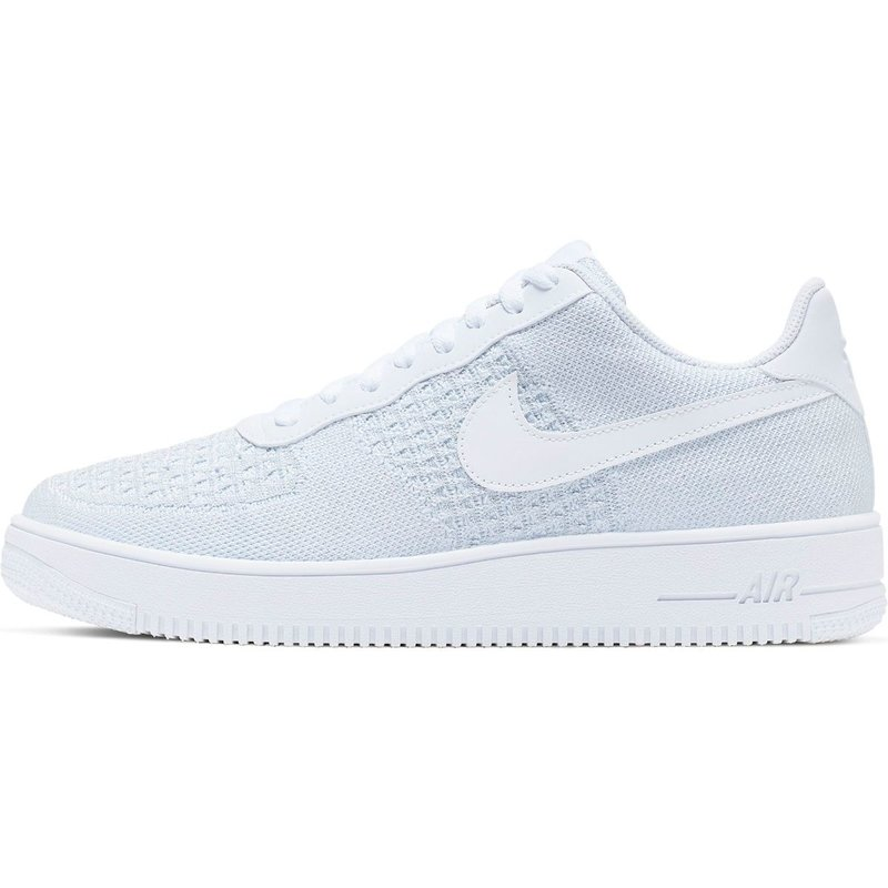 air force flyknit white